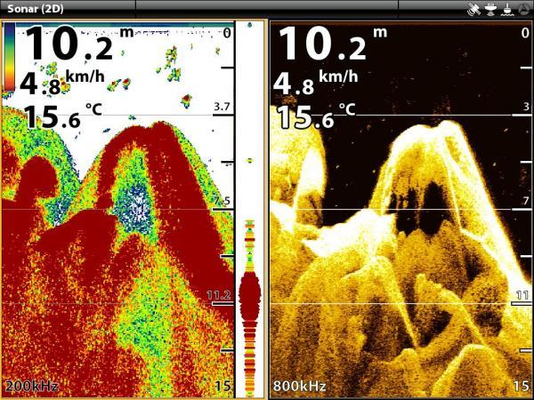 Humminbird Sonar Settings – Understanding Arches
